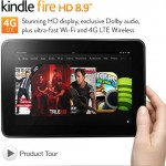 Kindle Fire HD 8.9″ 4G LTE Wireless Preview