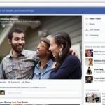 Facebook made interface design changes