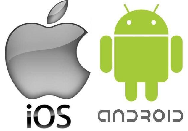 Android vs iOs - www.searchub.com