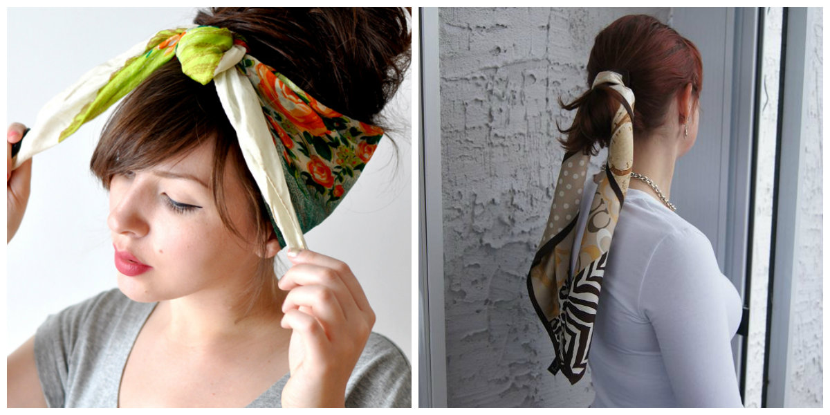 wear-bandana-style-scarf-with-your-chic-hairstyles-www.searchub.com